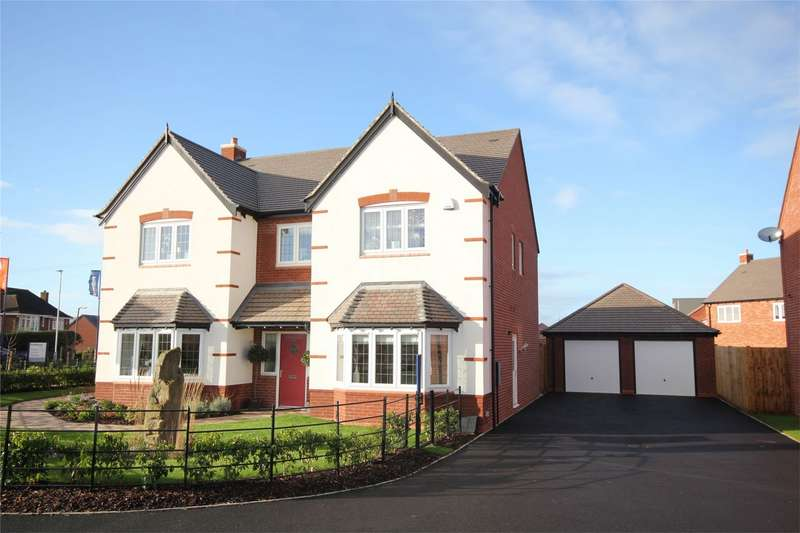 5 Bedrooms Detached House for sale in Cherry Tree Park, Bevere, Worcester