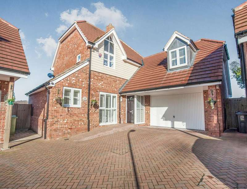 4 Bedrooms Detached House for sale in Westwood Close, Lenham, Maidstone, ME17