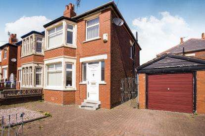 3 Bedrooms Semi Detached House for sale in Southbourne Road, Blackpool, Lancashire, FY3
