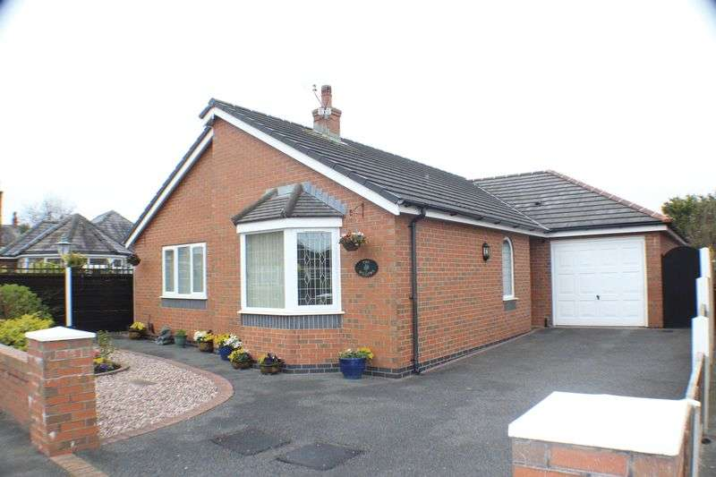 2 Bedrooms Detached Bungalow for sale in Hillcrest Drive, Tarleton