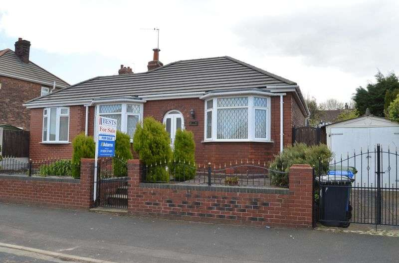 2 Bedrooms Detached Bungalow for sale in Cynthia Road, Runcorn