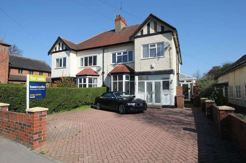 4 Bedrooms Semi Detached House for sale in Swanland Road, Hessle