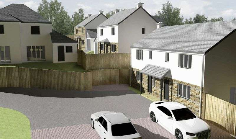 3 Bedrooms Semi Detached House for sale in Little Newbridge, Truro