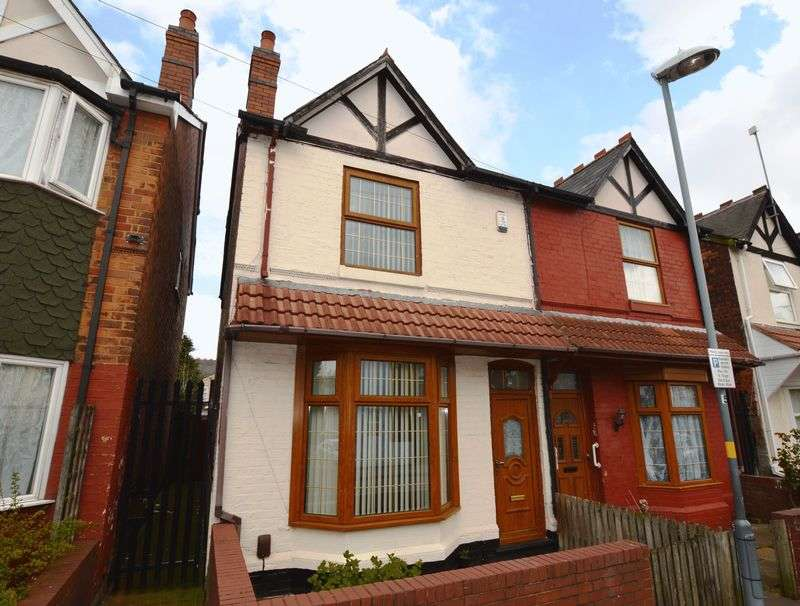 3 Bedrooms Semi Detached House for sale in Holte Road, Birmingham