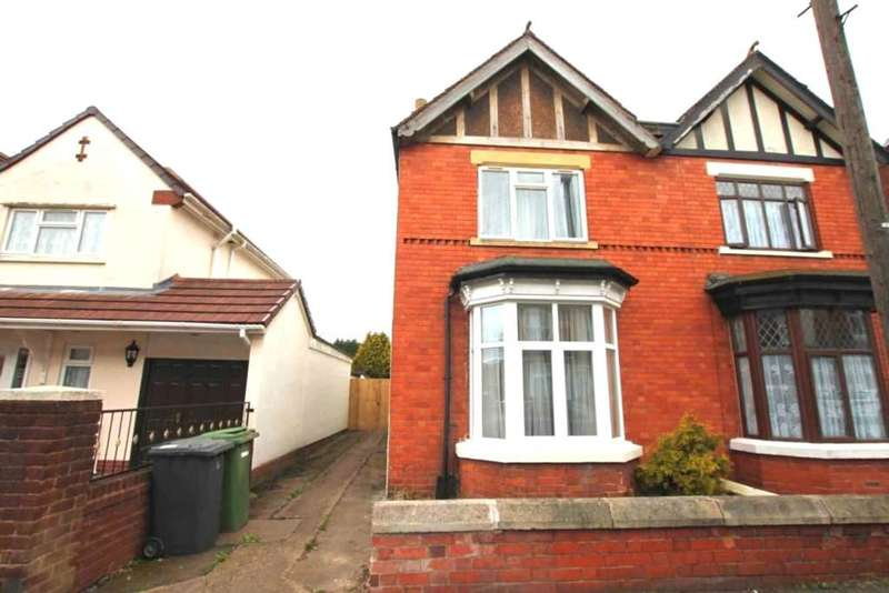 3 Bedrooms Semi Detached House for sale in Victoria Road, Wolverhampton