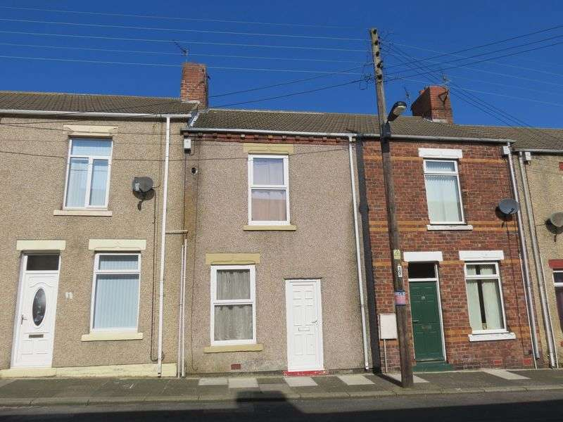 2 Bedrooms Terraced House for sale in Second Street, Blackhall Colliery