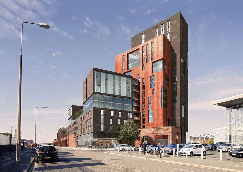 1 Bedroom Flat for sale in One Bedroom Apartment, North Point, Pall Mall, Liverpool 3