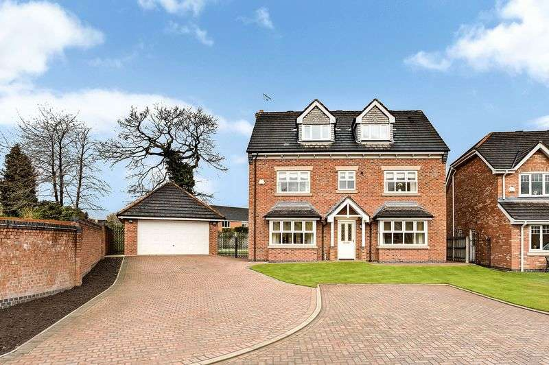 5 Bedrooms Detached House for sale in Randles View, Congleton
