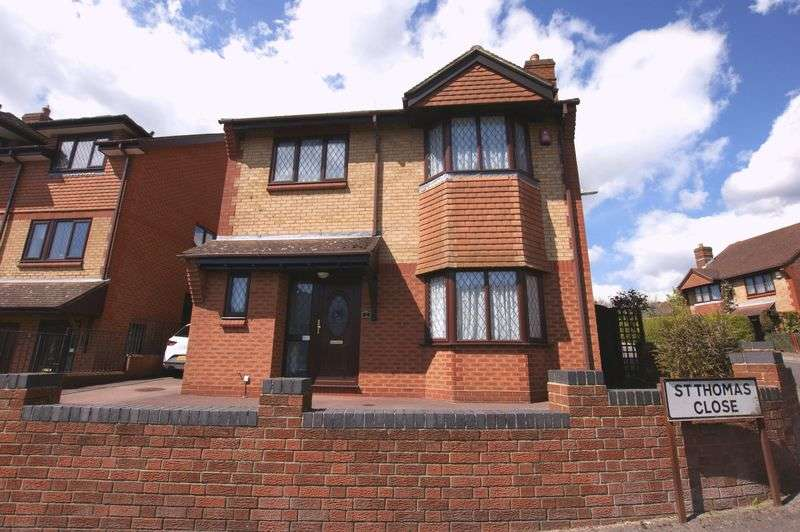 4 Bedrooms Detached House for sale in St. Thomas Close, Fareham