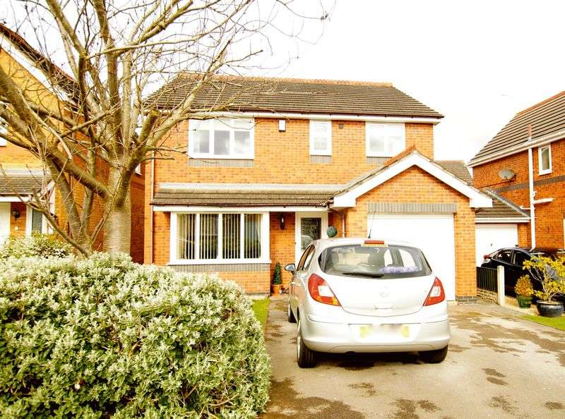 4 Bedrooms Detached House for sale in Bedwell Close, Ruabon, Wrexham