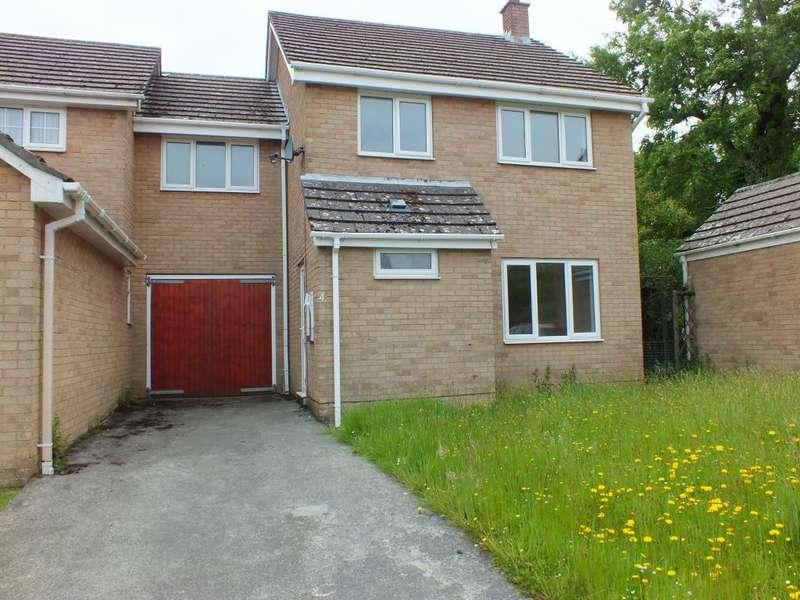 4 Bedrooms Link Detached House for sale in Woodlands View, Johnston, Haverfordwest
