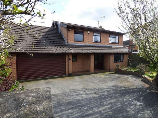 4 Bedrooms Detached House for sale in Megs Lane, Buckley, Flintshire