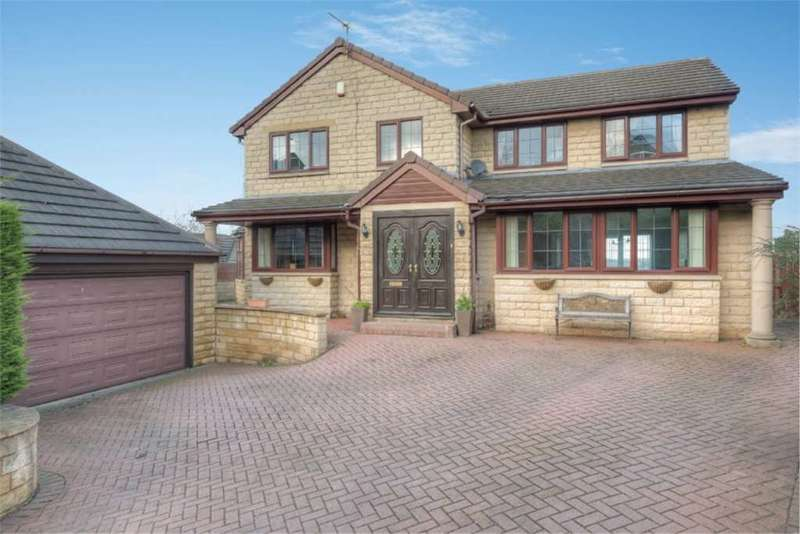 4 Bedrooms Detached House for sale in Hillgarth, Thornhill