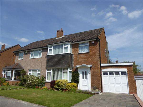 3 Bedrooms Semi Detached House for sale in Peach Ley Road, Selly Oak, Birmingham