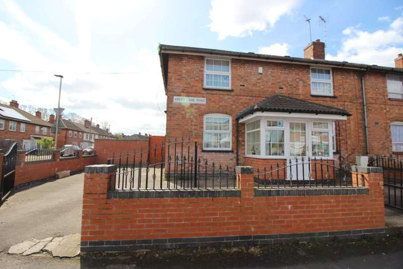 3 Bedrooms Semi Detached House for sale in Green Lane Road, Leicester
