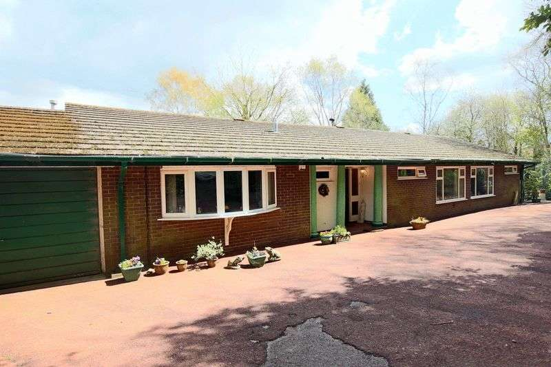 4 Bedrooms Detached Bungalow for sale in Manor Road, Madeley