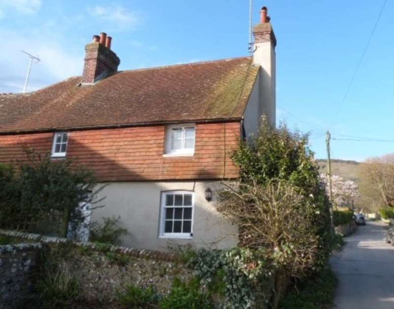 2 Bedrooms Semi Detached House for sale in The Street, Kingston, Lewes