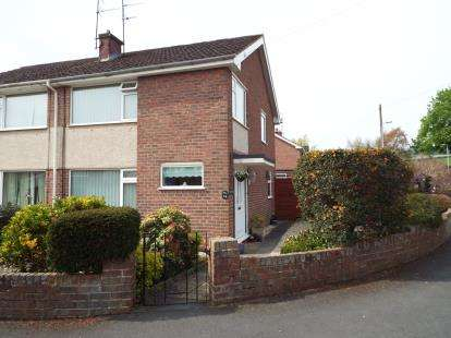 3 Bedrooms Semi Detached House for sale in Lon Cae Del, Mold, Flintshire, CH7
