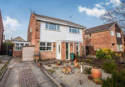 2 Bedrooms Semi Detached House for sale in Widdale Road, Knaresborough, North Yorkshire