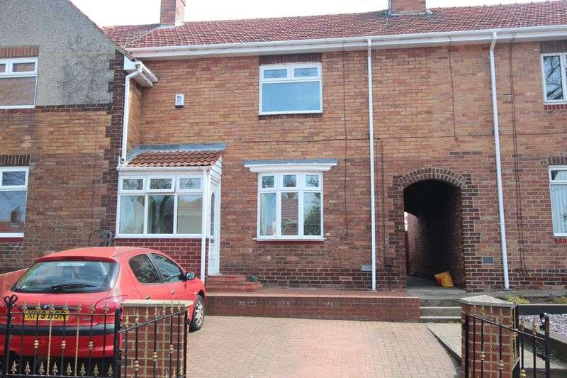 3 Bedrooms Semi Detached House for sale in Saxon Crescent, Humbledon, Sunderland