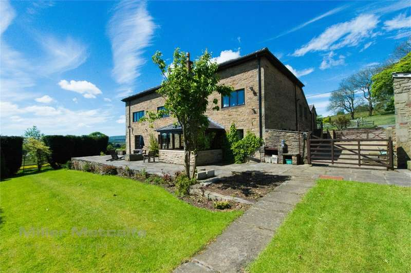 5 Bedrooms Detached House for sale in Greenwoods Lane, Harwood, Bolton, Lancashire