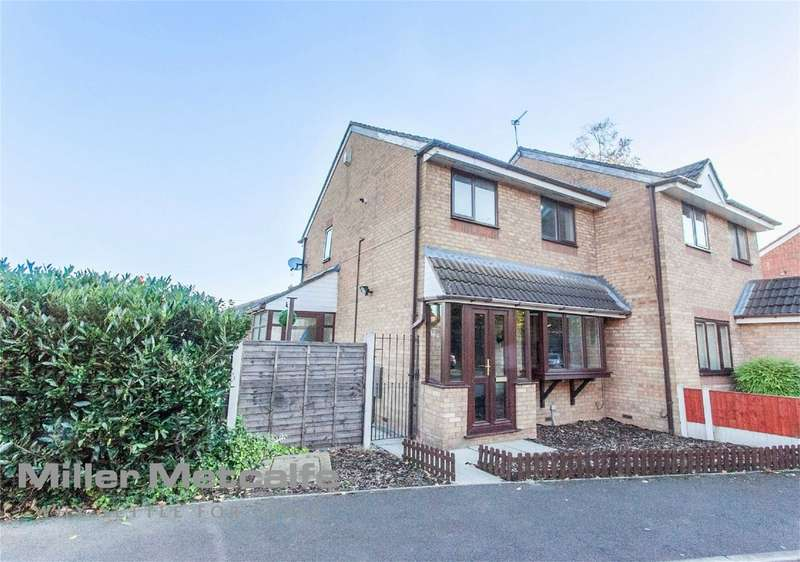 3 Bedrooms Semi Detached House for sale in Sheldwich Close, Leigh, Lancashire