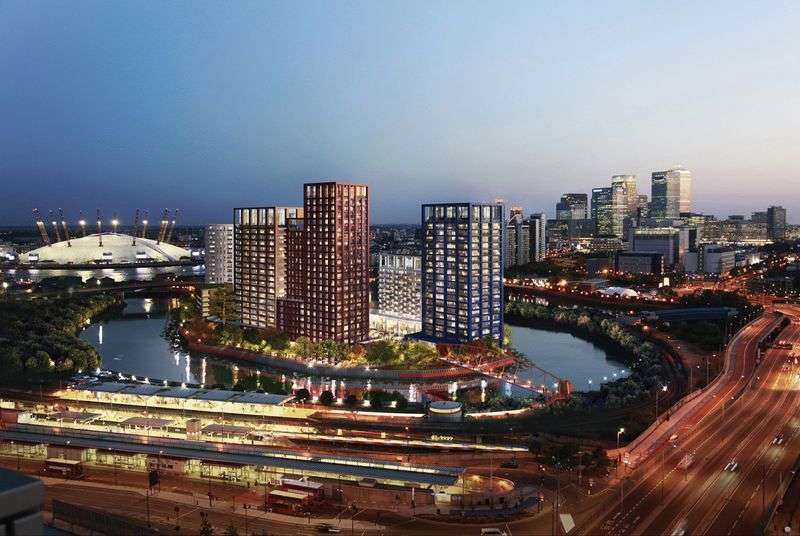 3 Bedrooms Flat for sale in Foundry, City Island, Canning Town
