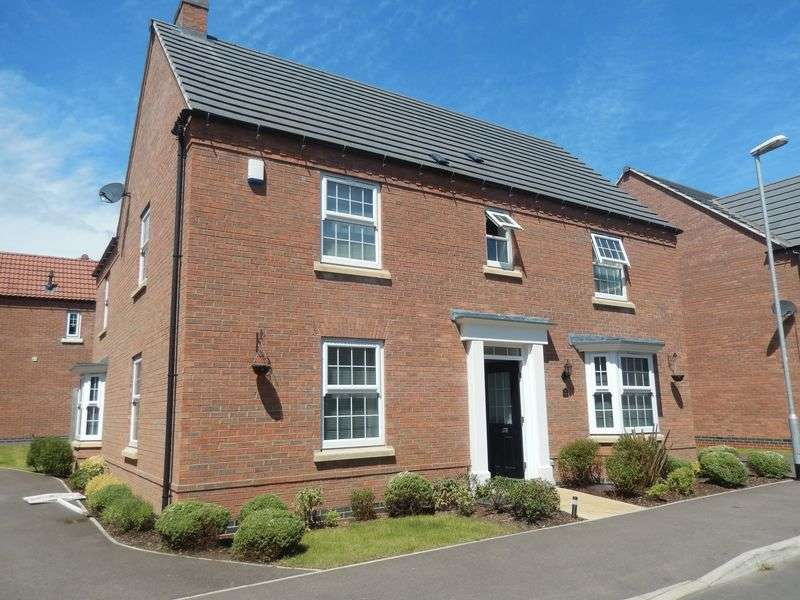 4 Bedrooms Detached House for sale in Dakota Road, Nottingham