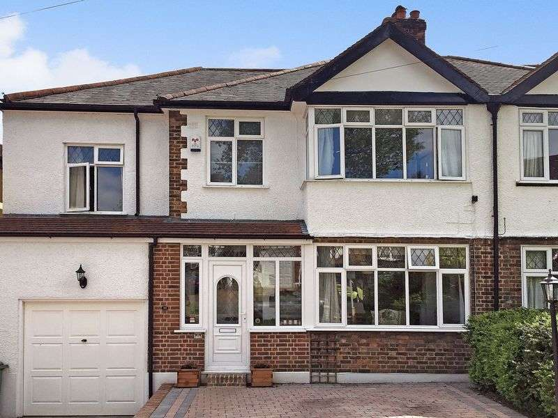 4 Bedrooms Semi Detached House for sale in SOUTH SUTTON