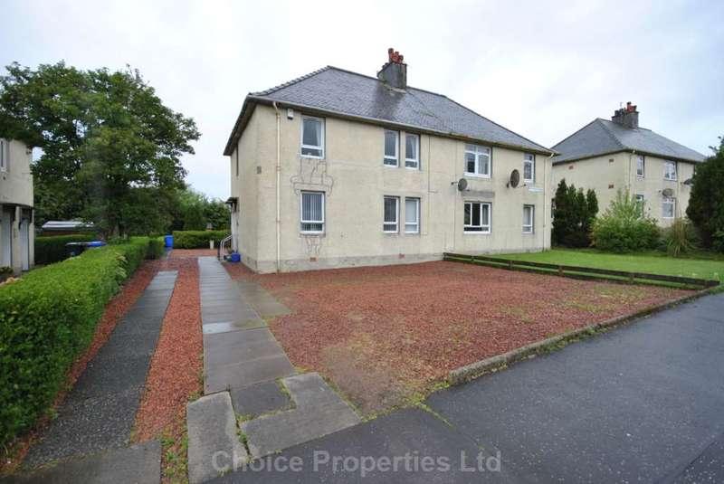 1 Bedroom Flat for sale in Culzean Crescent, Kilmarnock, KA3 7DS