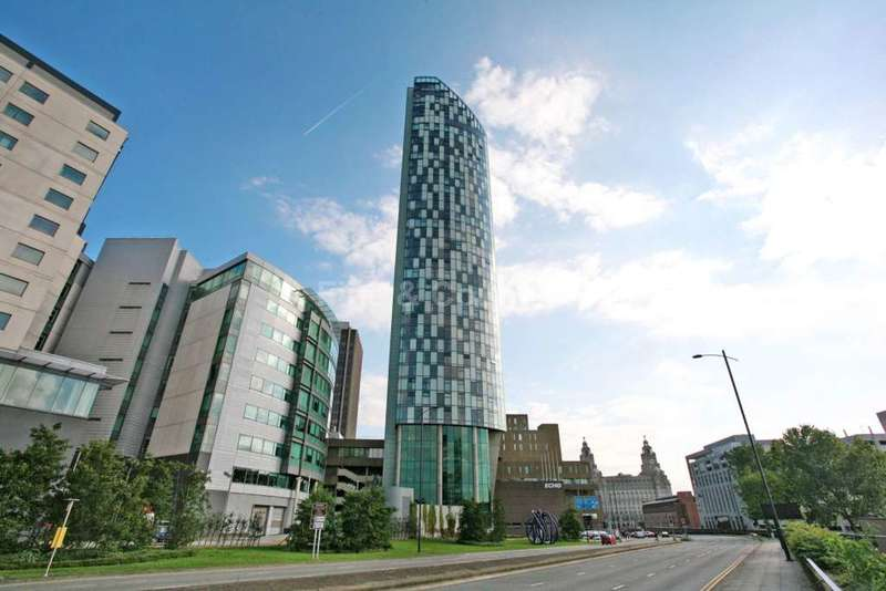 3 Bedrooms Penthouse Flat for sale in West tower, Brook Street, Liverpool