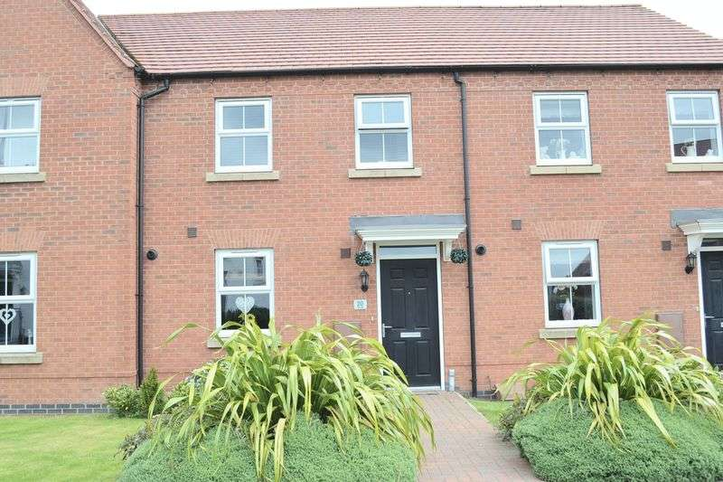 3 Bedrooms Terraced House for sale in Hope Way, Church Gresley