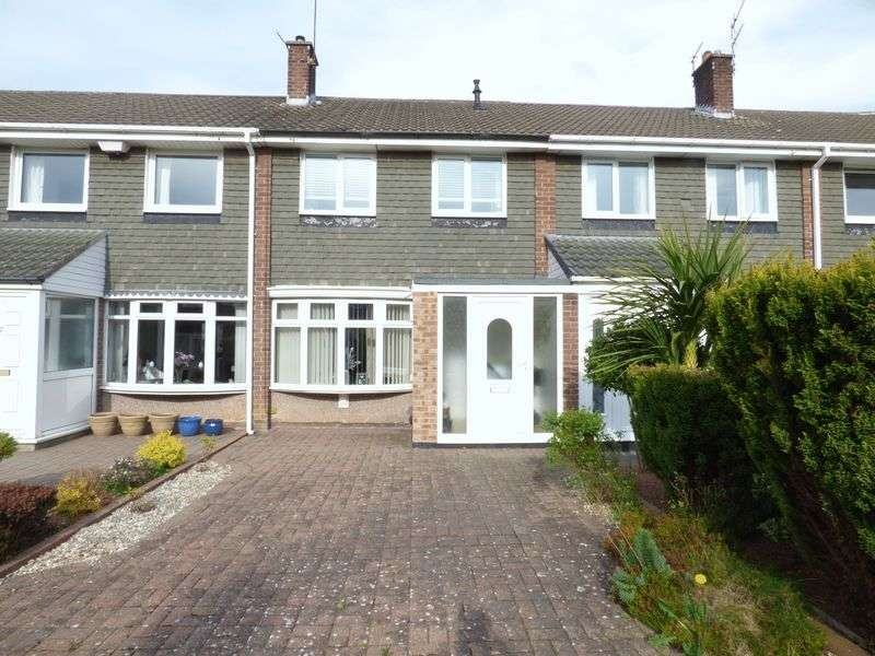 2 Bedrooms Terraced House for sale in Stanhope Close, Houghton Le Spring