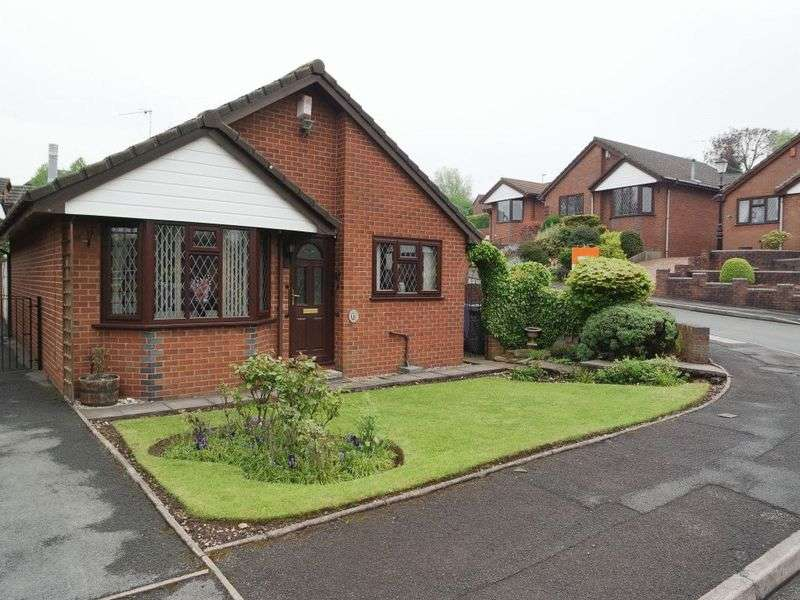 3 Bedrooms Detached Bungalow for sale in Downsview Grove, Blurton, Stoke-On-Trent, ST3 2SX