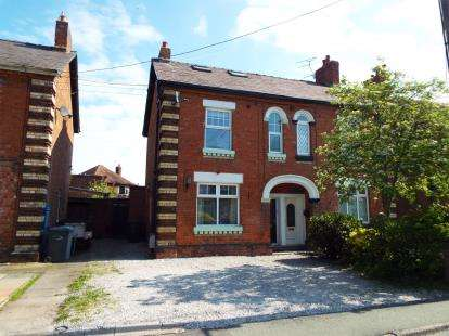 3 Bedrooms Semi Detached House for sale in Coppice Road, Willaston, Nantwich, Cheshire