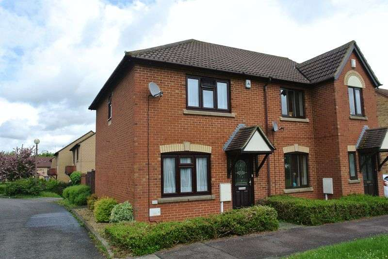 3 Bedrooms Semi Detached House for sale in Tunbridge Grove, Kents Hill, Milton Keynes
