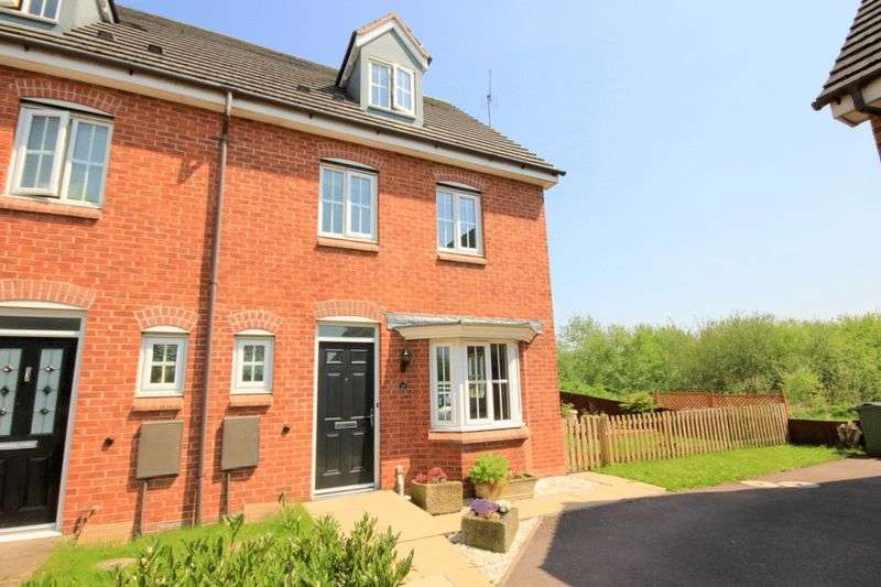 4 Bedrooms Terraced House for sale in Pioneer Way, Stafford