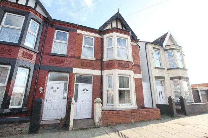 4 Bedrooms Semi Detached House for sale in Poulton Road, Wallasey, Wirral