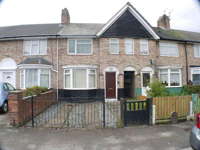 3 Bedrooms Terraced House for sale in York Way, Liverpool, L19 8JR