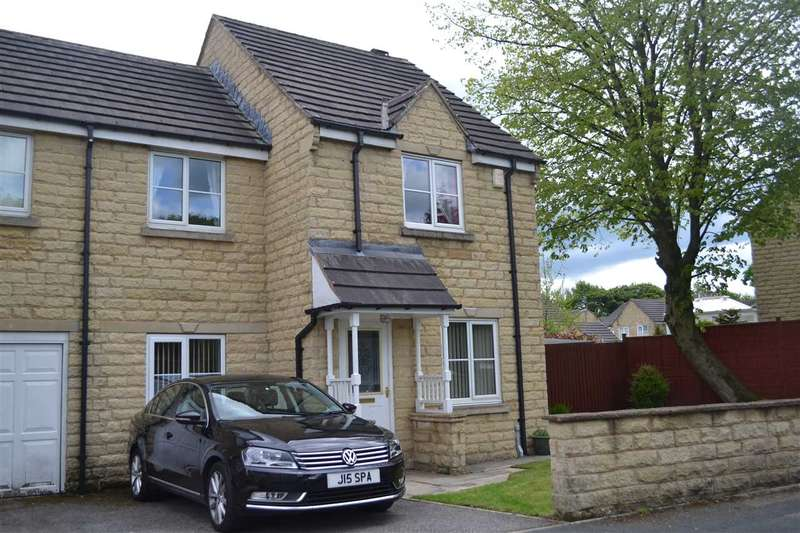 4 Bedrooms Semi Detached House for sale in Peregrine Way, Westwood Park, Bradford