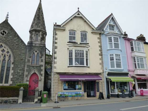 4 Bedrooms End Of Terrace House for sale in Sea View Terrace, Aberdovey, Gwynedd