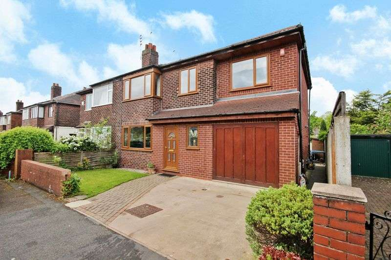 5 Bedrooms Semi Detached House for sale in Crawford Avenue, Roe Green, Worsley