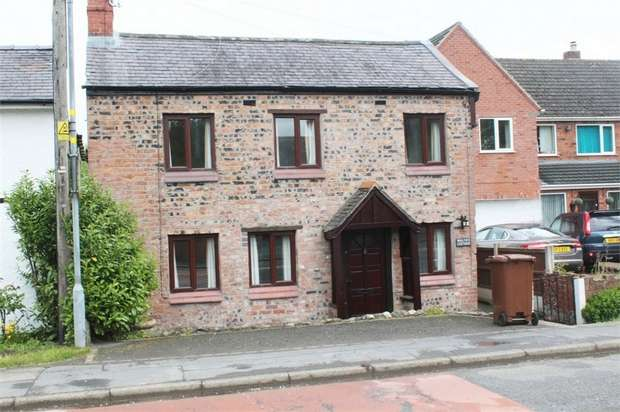 3 Bedrooms Detached House for sale in Walnut Cottage, Babbinswood, Whittington, Oswestry, Shropshire