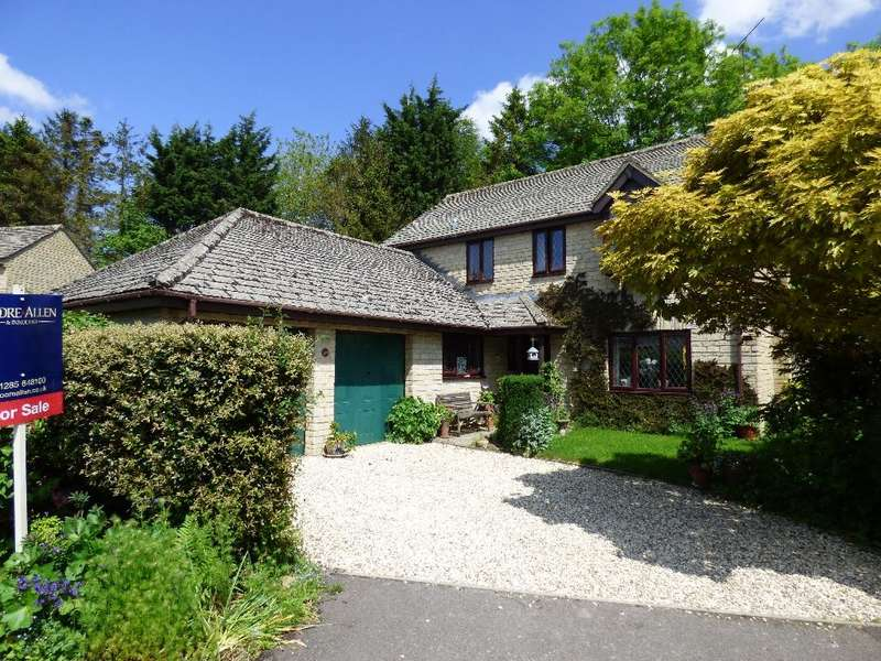 4 Bedrooms Detached House for sale in Lakeside, South Cerney, Cirencester