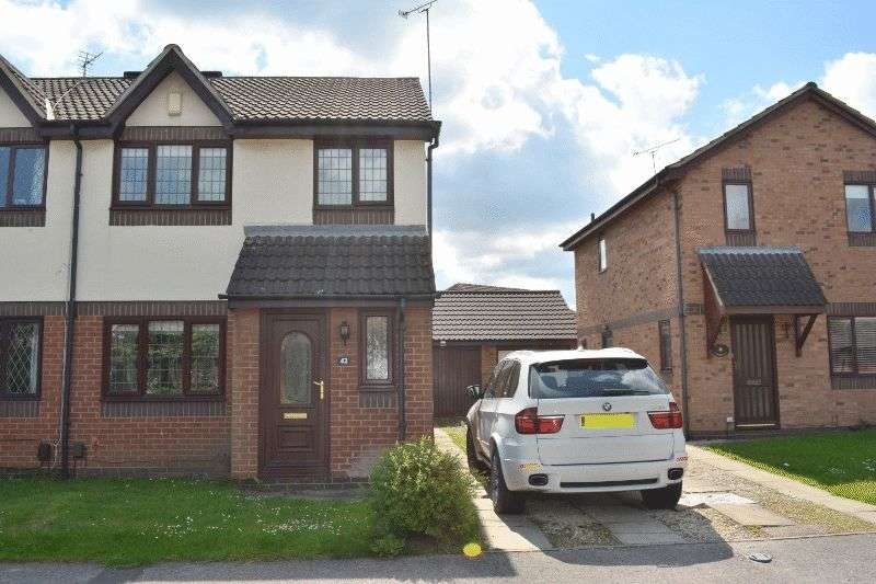 3 Bedrooms Semi Detached House for sale in Speedwell Crescent, Scunthorpe