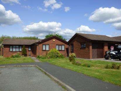 3 Bedrooms Bungalow for sale in Mount Tabor Close, Penymynydd, Chester, Flintshire, CH4