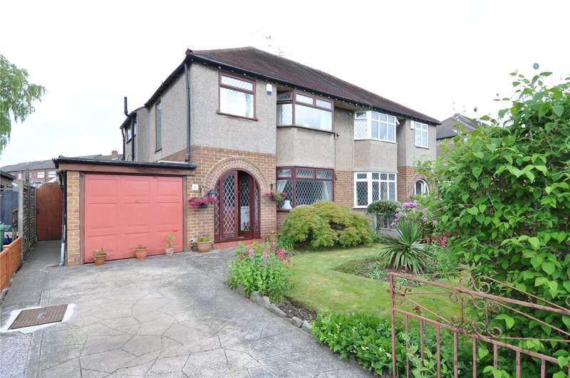 3 Bedrooms Semi Detached House for sale in Brookside Crescent, Upton, Wirral
