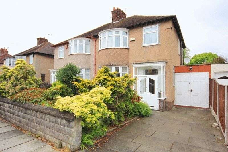 3 Bedrooms Semi Detached House for sale in Childwall Crescent, Childwall, Liverpool, L16