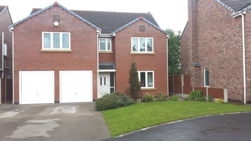 5 Bedrooms Detached House for sale in Holly Tree Close, Ewloe Green, CH5 3AQ.
