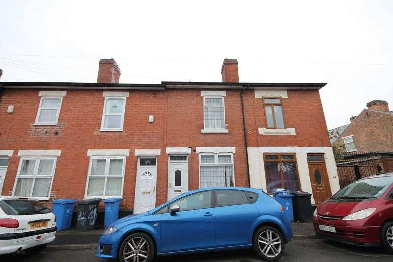 3 Bedrooms Terraced House for sale in BODEN STREET, DERBY